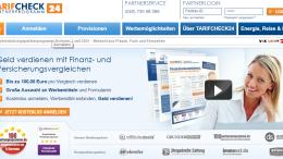 tarifcheck24 Partnerprogramm
