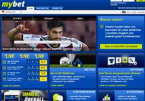 screenshot mybet.com
