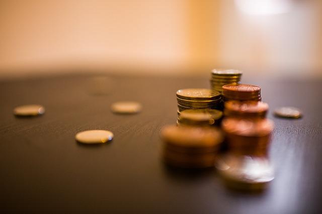 Münzgeld sparen