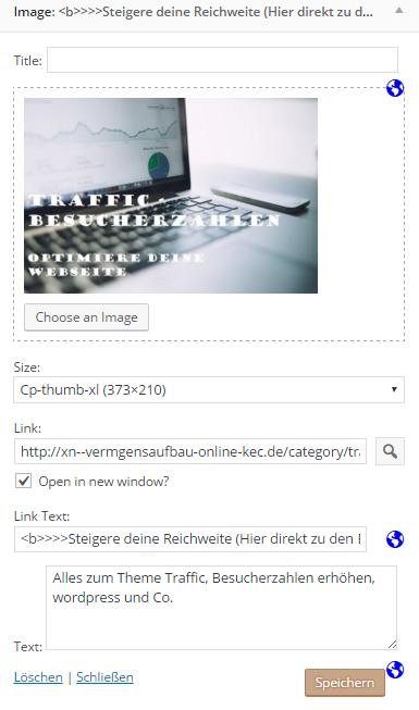 Wordpress Plugins für Nischenseiten