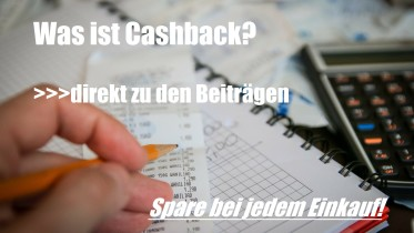 Cashback Anbieter Vergleich