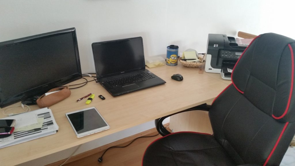 Bürotechnik für Blogger