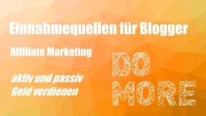 Einnahmequellen für Blogger