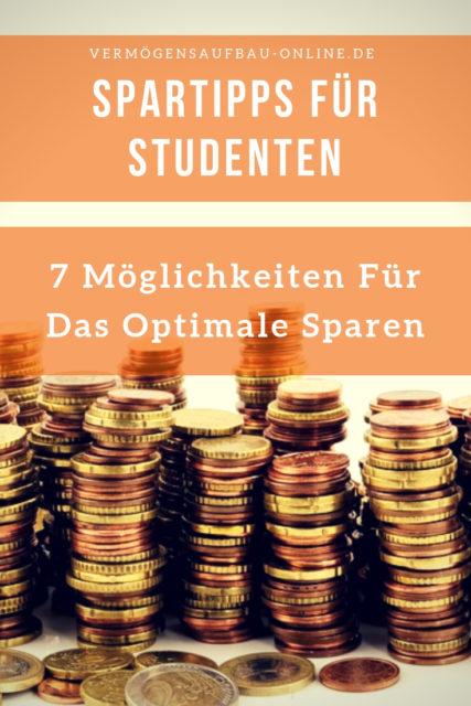 Spartipps Für Studenten