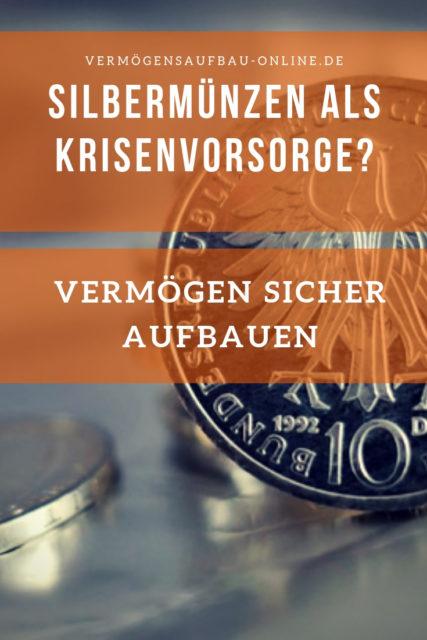 Silbermünzen als Krisenvorsorge